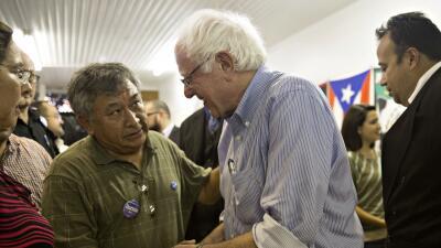 Sanders desplaza a Clinton entre los hispanos de Nevada GettyImages-4864...
