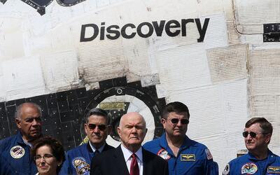 El astronauta retirado y exsenador John Glenn falleció este mi&ea...