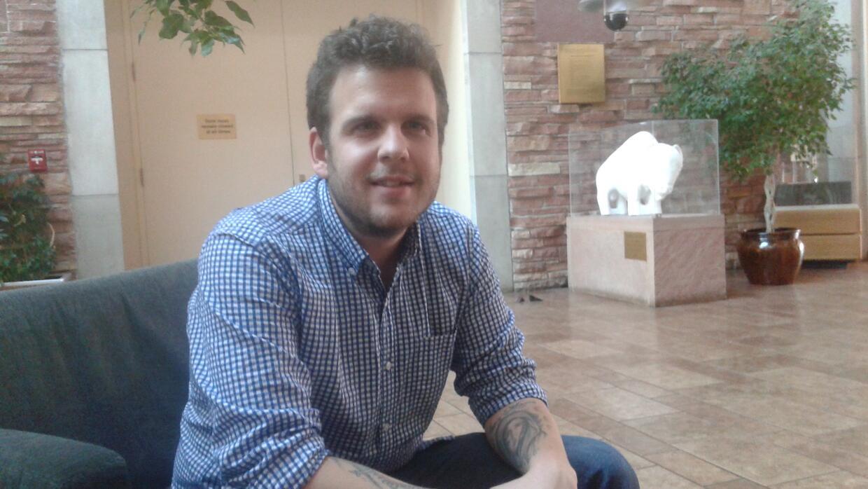 Javier Mabrey, presidente de los estudiantes demócratas