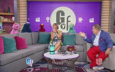 Raúl de Molina revivió su niñez con la visita del elenco de Sesame Amigos