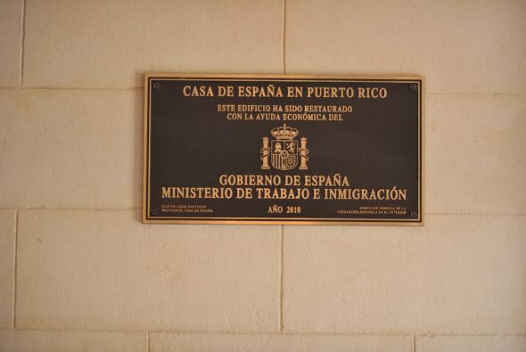 Casa de España en San Juan, Puerto Rico, es un lugar histórico.