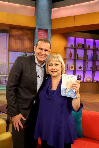 Alan también se tomó la foto del recuerdo pues Cristina es una mujer a l...