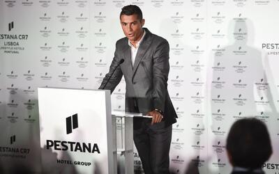 Cristiano Ronaldo inaugura su segundo hotel, ahora en Lisboa