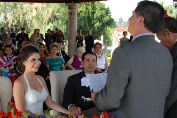 Hubo momentos muy emotivos, Ana y Luis se dedicaron muy bellas palabras.