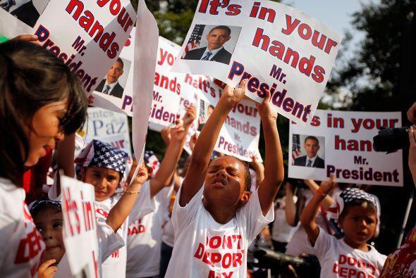 La reforma migratoria ha sido un tema más que espinoso para Obama...