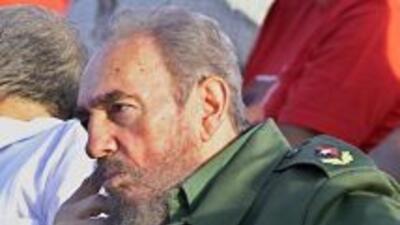 El ex presidente cubano Fidel Castro.