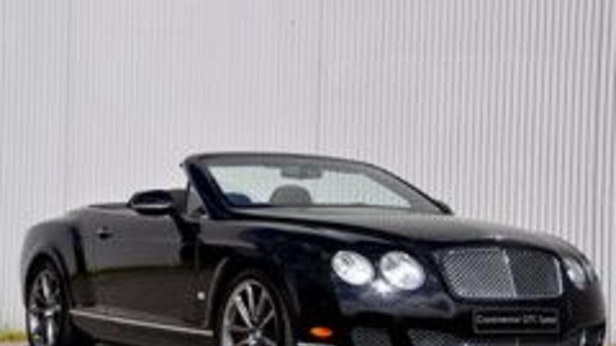 Bentley Continental GTC 80-11 Speed