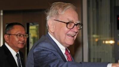 Warren Buffett no dio a conocer el nombre de las empresas donde realizó...