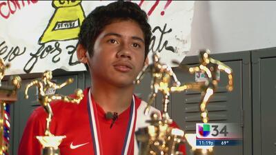 La fe y el talento impulsan sus éxitos futboleros