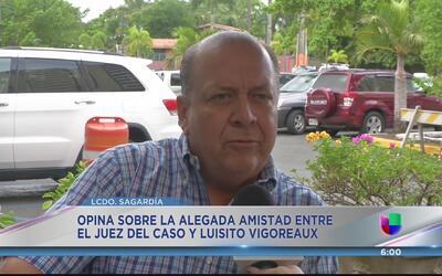"""Antonio Sagardía: """"Se lanza lodo sobre el juez Rebollo"""""""