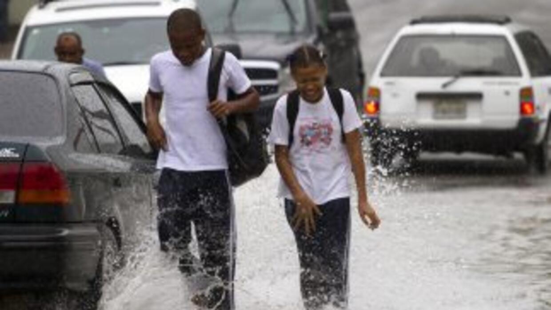 Alerta por fuertes lluvias en República Dominicana.