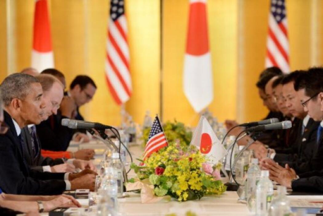 Quien invitó al presidente Obama a cenar al legendario restaurante Sukiy...