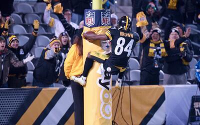 Celebraciones de touchdown con mucho estilo