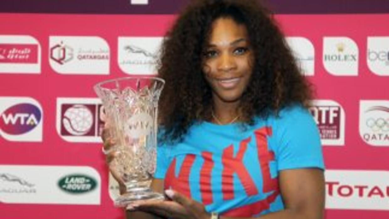 Serena se convierte así en la jugadora más veterana en ostentar ese puesto.