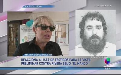 "Padrastro de Rivera Seijo ""El Manco"" en  lista de testigos para la vista..."