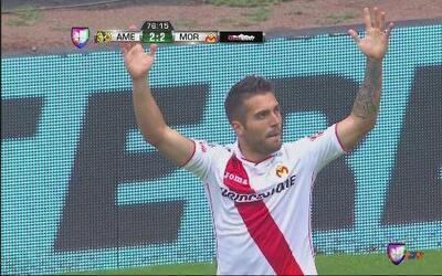 América vs Morelia: David Depetris anotó el segundo gol de Morelia para...