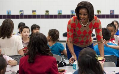 Sacarán del menú escolar las comidas saludables recomendadas por Michell...