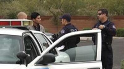 Policia de Mesa investigando el incidente