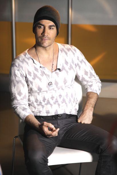 David Zepeda estuvo en Univision y levantó pasiones. No te pierda...