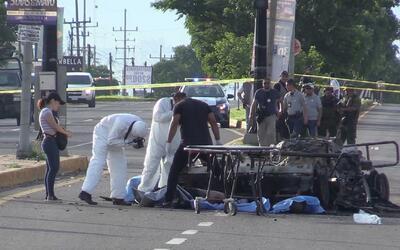 Se encrudece la violencia en Sinaloa tras la extradición de 'El Chapo' p...