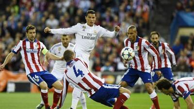 A pesar de las muchas ocasiones, Atlético de Madrid y Real Madrid no enc...