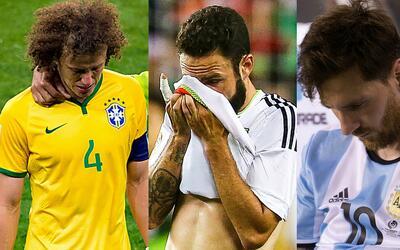 Colombia empata 1 a 1 con Argentina y se aleja del mundial de Chile Via-...