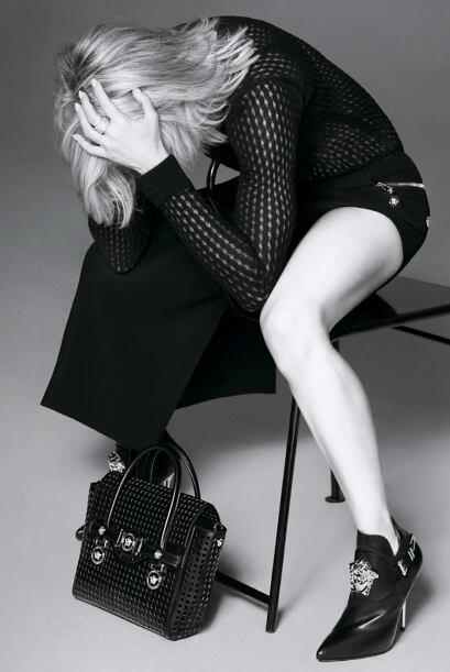 Madonna presume los accesorios y prendas de la marca, de la manera que s...
