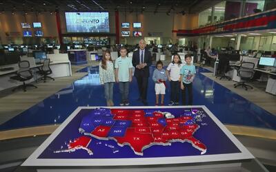 El mensaje de un grupo de niños a Donald Trump