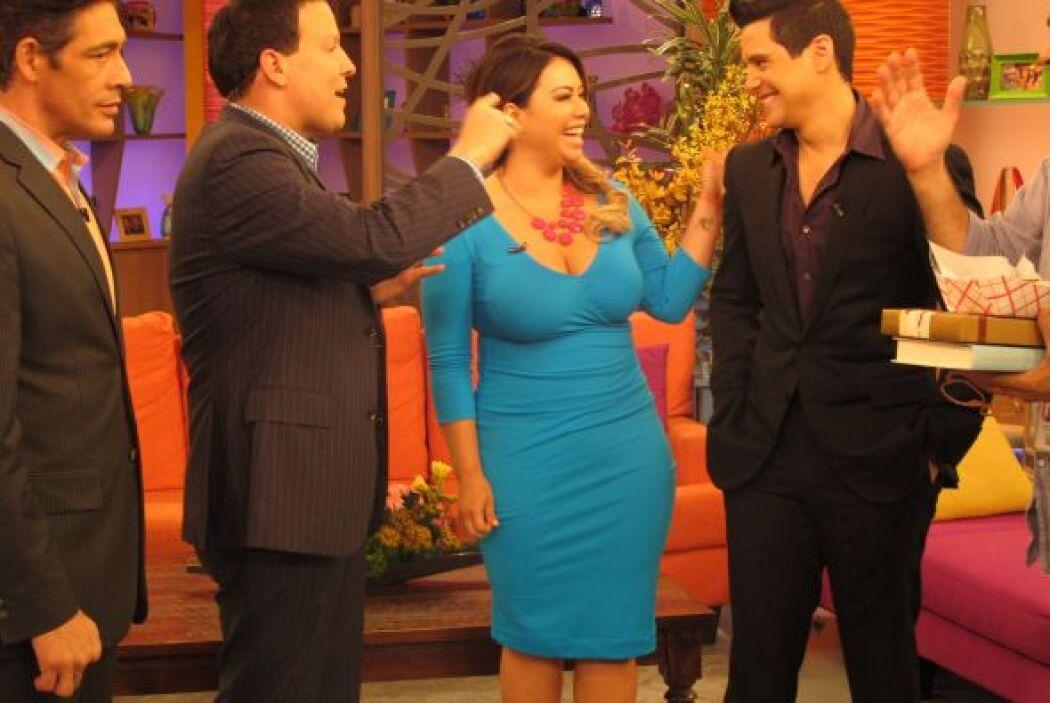 Otro intento frustado. Chabán no deja que Chiquis coma ni en telenovela.