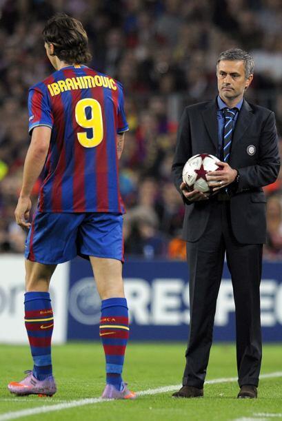 Samuel Eto'o, Zlatan Ibrahimovic, Eidur Gudjhonsen, Maxwell y en menor e...