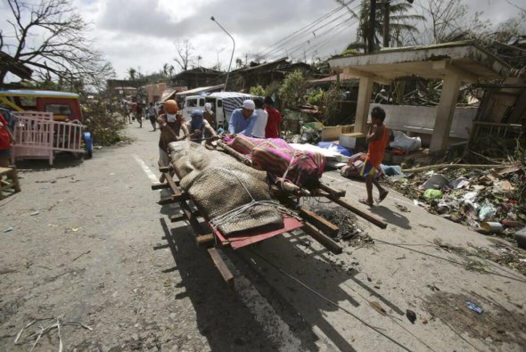 """""""La destrucción en Tacloban causa conmoción"""", aseguró Praveen Agrawal, d..."""