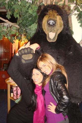 "¿Alguien dijo ""abrazo de oso""?"