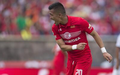 Fernando Uribe hizo doblete en el triunfo de Toluca