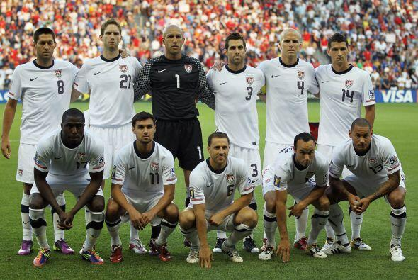La Selección de Estados Unidos avanzó en segundo lugar a la ronda de cua...