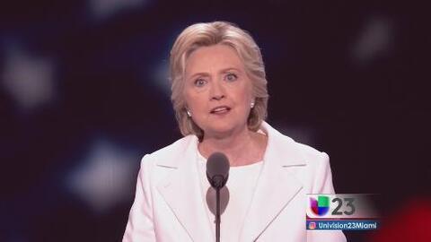 Hillary Clinton deja huella en la historia de Estados Unidos