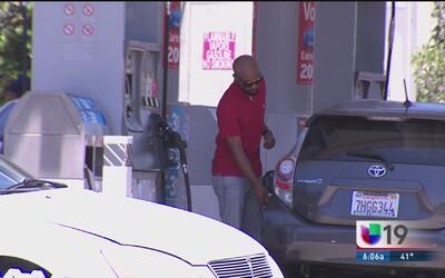 Precio de la gasolina sigue disminuyendo