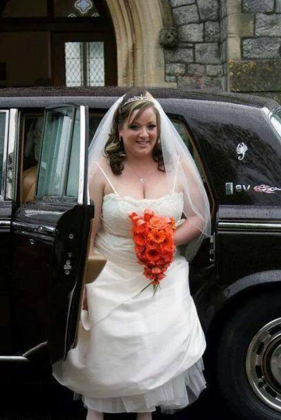 Antes de la boda, Vcky Jennings acudía regularmente para asegurarse de q...
