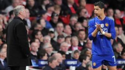 Cristiano recuerda con cariño su paso por el United, al igual que los co...