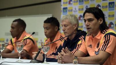El delantero del Manchester United volverá a jugar con Colombia.