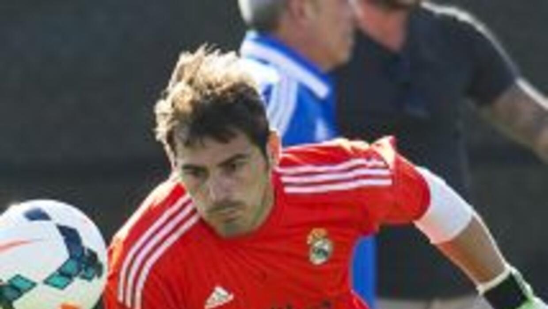 El arquero del Madrid espera volver a ser el mismo de antes ahora con An...