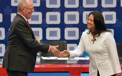 Último debate presidencial en Perú