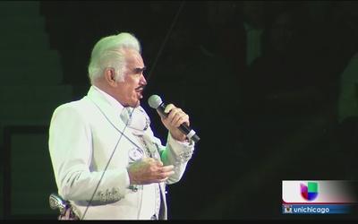 Dan a conocer la fecha del último concierto de Vicente Fernández