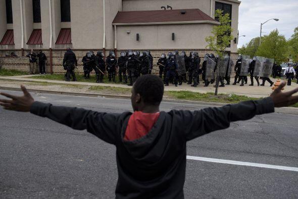 Los manifestantes han estado demandando justicia y protestando diariamen...