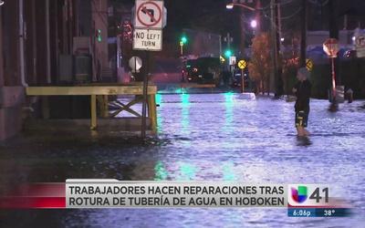 Miles de residentes de Hoboken quedan sin agua