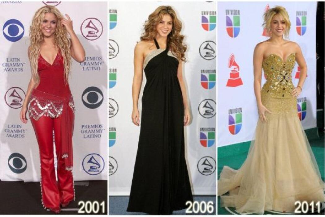Shakira usa la ropa de acuerdo a la etapa de la vida en la que se encuen...