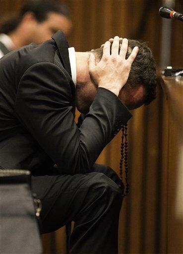 Oscar Pistorus fue declarado no culpable de homicidio intencional de su...