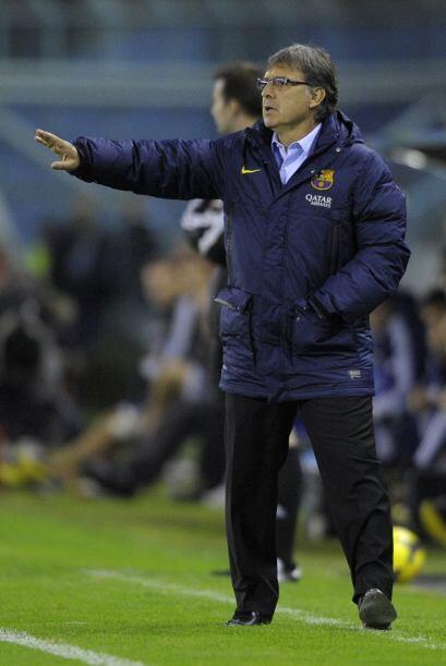 Gerardo Martino parecía conforme con el juego de sus dirigidos, pero no...