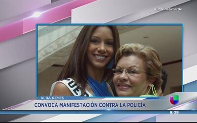 Alba Reyes convoca a una protesta por los crímenes sin resolver
