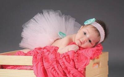 Conocemos a baby Kamilia desde el vientre de su mami y la princesita ya...