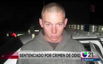 Sentenciado por crimen de odio